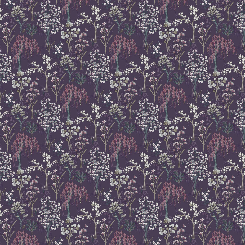 Kieder Wallpaper - Purple - by Albany
