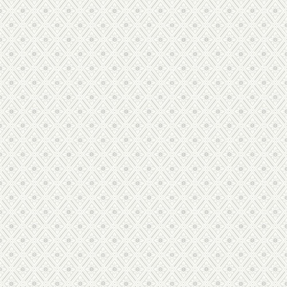 Ester Wallpaper - White - by Boråstapeter
