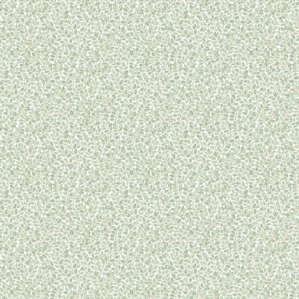 Hazel Wallpaper - Light Green - by Boråstapeter