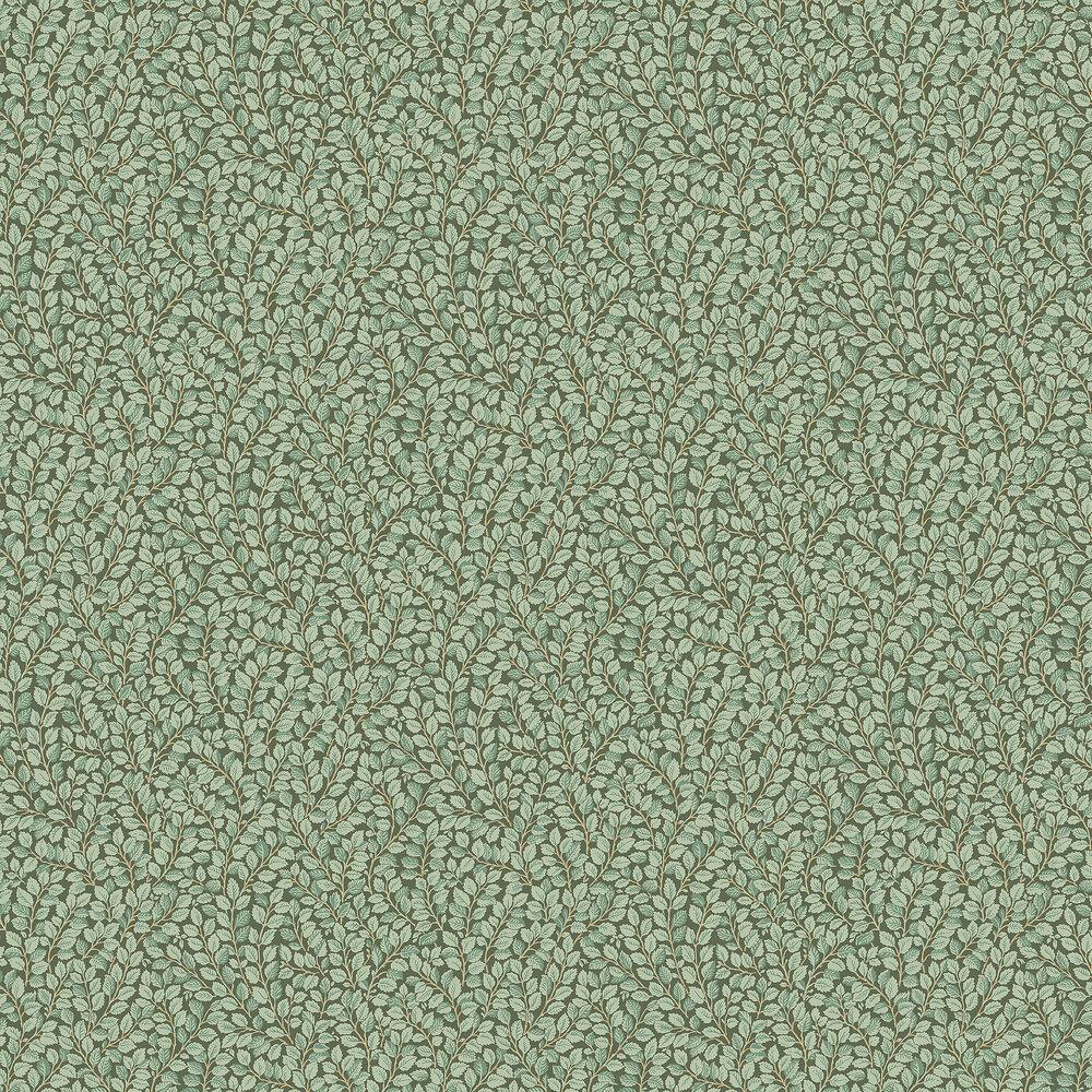 Hazel Wallpaper - Dark Green - by Boråstapeter