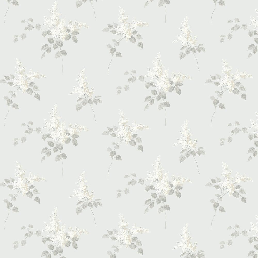 Lilacs Wallpaper - Grey - by Boråstapeter