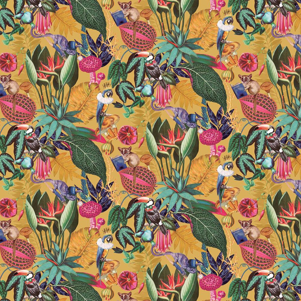 Reverie Wallpaper - Ochre - by Albany