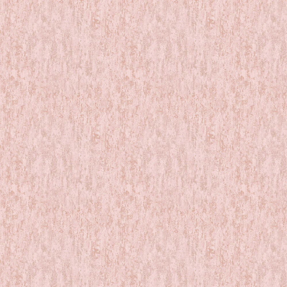 Distressed Metallic Wallpaper - Pink - by Albany