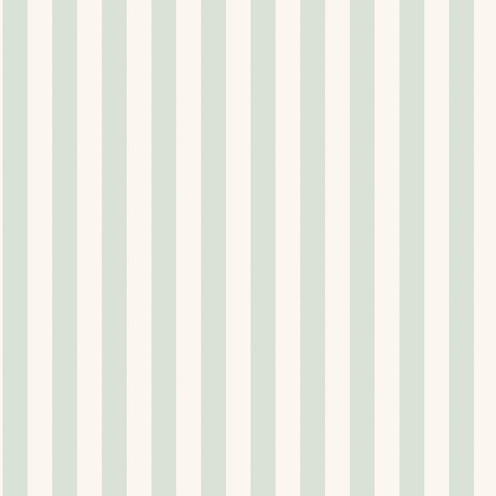 Falsterbo Stripe Wallpaper - Green - by Boråstapeter
