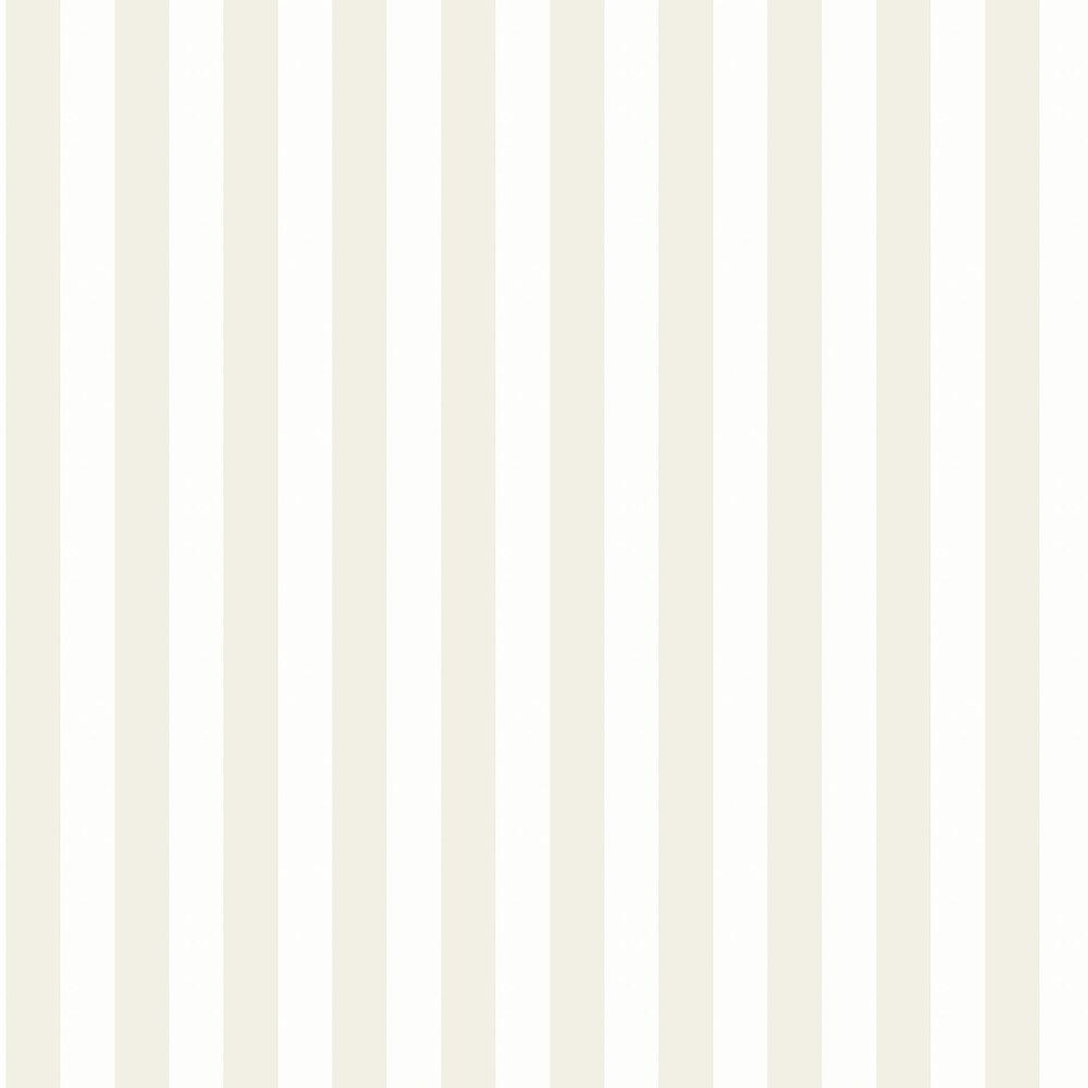 Falsterbo Stripe Wallpaper - Beige - by Boråstapeter
