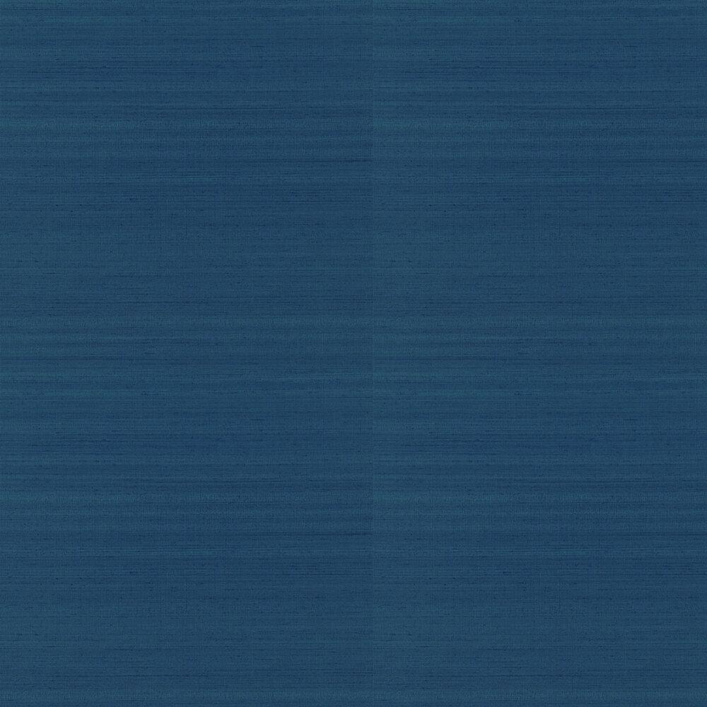 Chinon Wallpaper - Denim - by Designers Guild