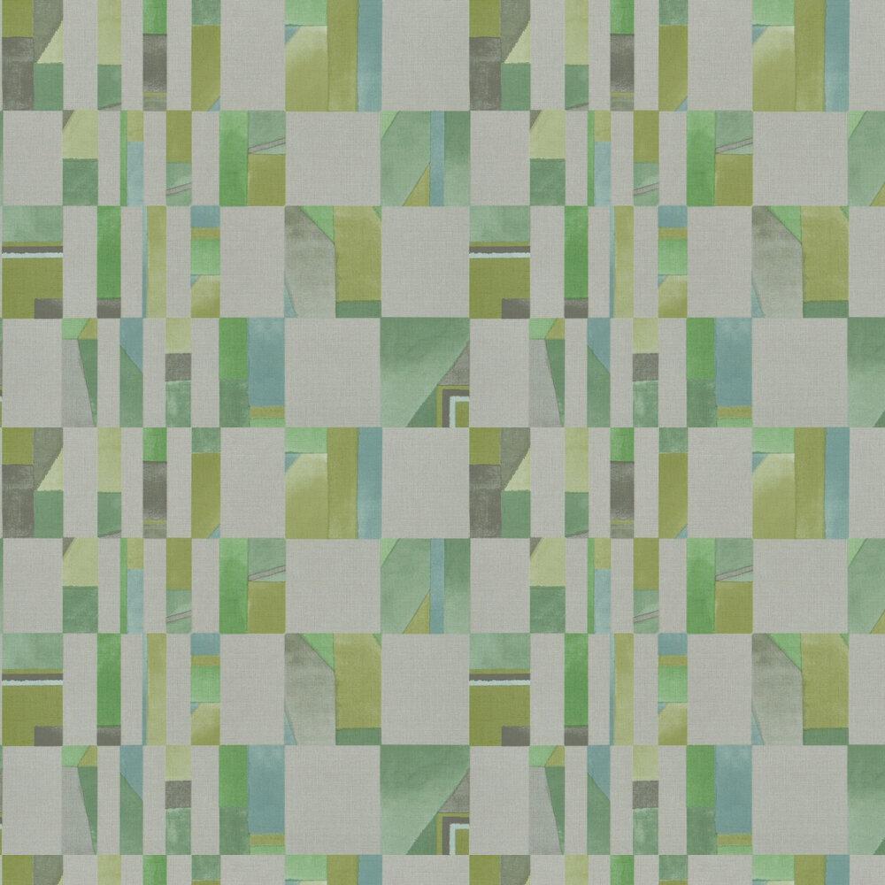 Parterre Wallpaper - Emerald - by Designers Guild