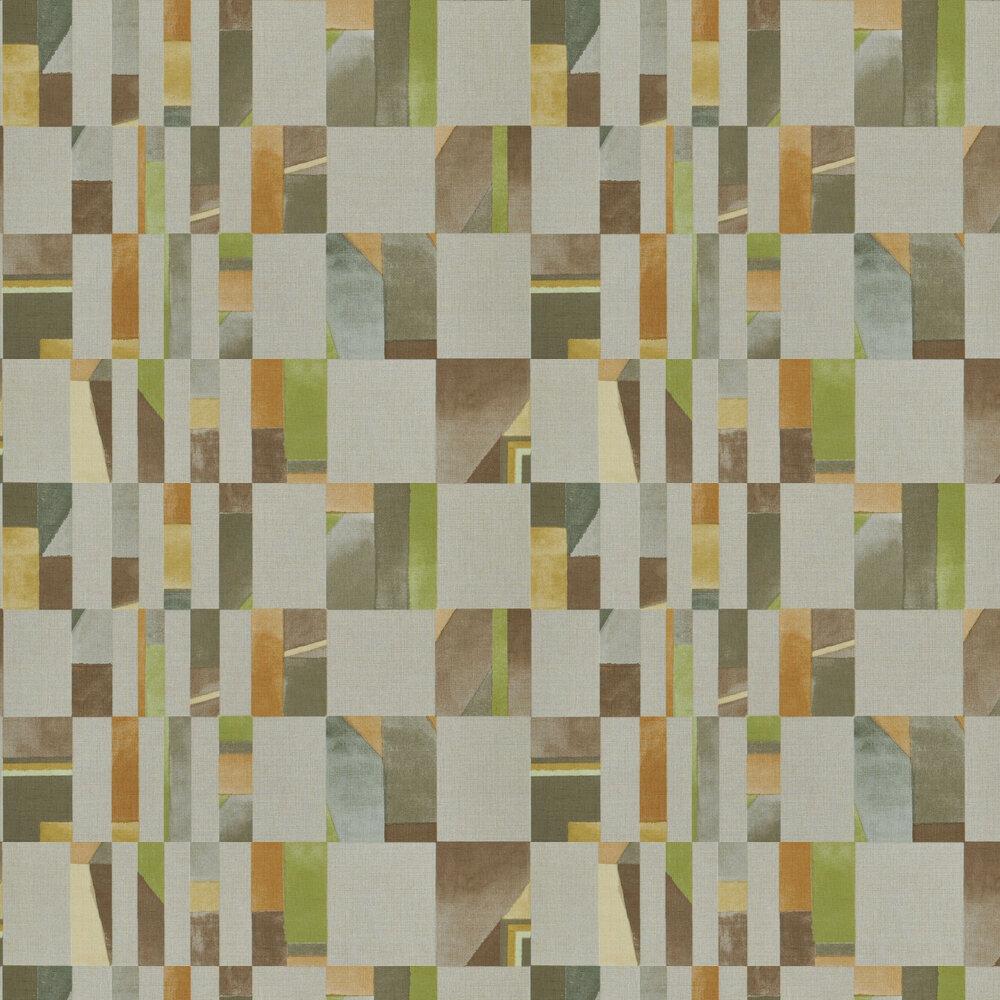 Parterre Wallpaper - Turmeric - by Designers Guild