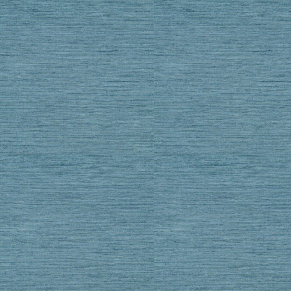Brera Grasscloth Wallpaper - Denim - by Designers Guild