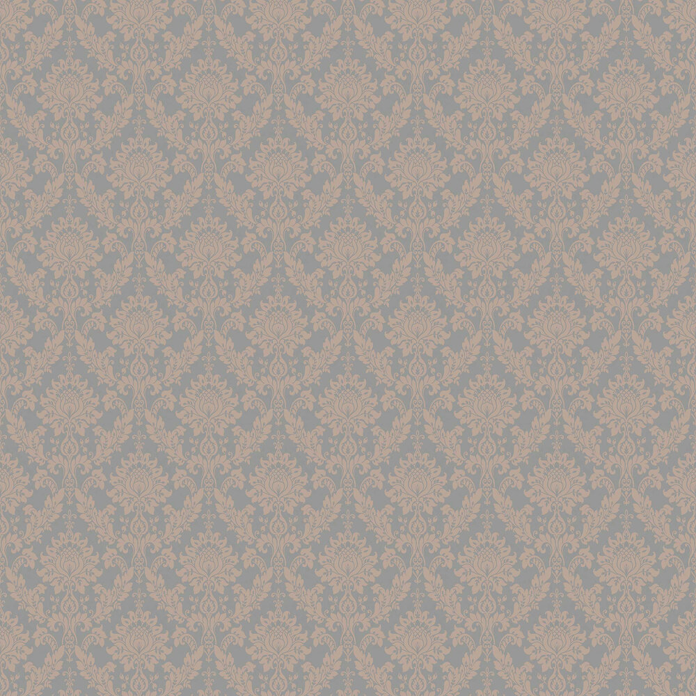 Clara Wallpaper - Rose Gold - by Albany