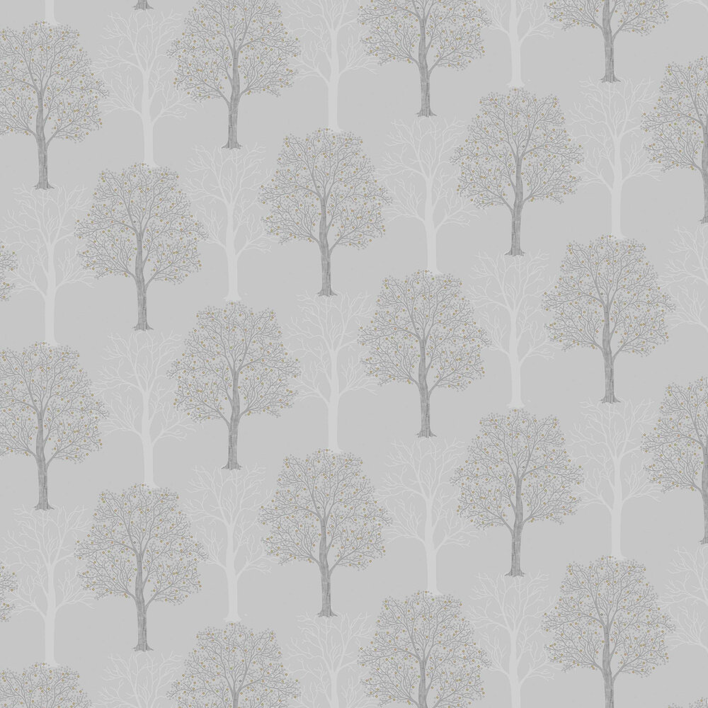 Ornella Wallpaper - Light Slate - by Albany