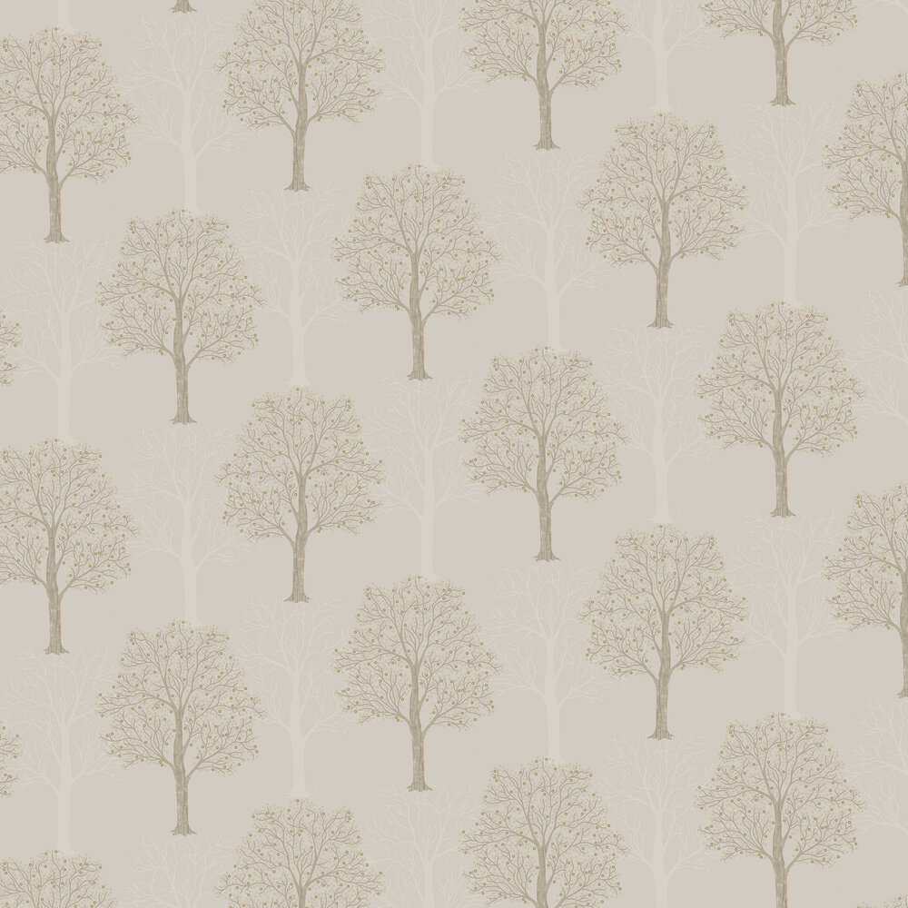 Ornella Wallpaper - Taupe - by Albany