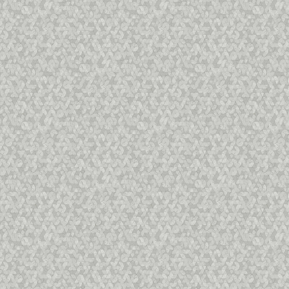 Origami Wallpaper - Grey - by Albany