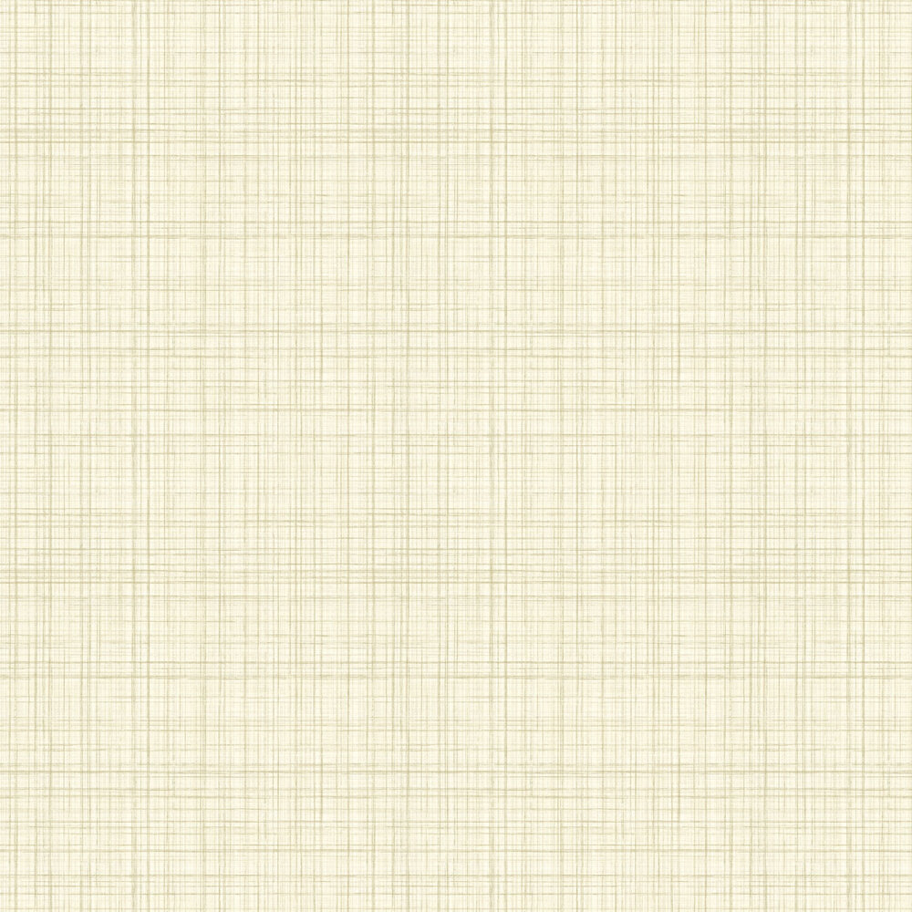 Lucia Wallpaper - Cream - by Elizabeth Ockford