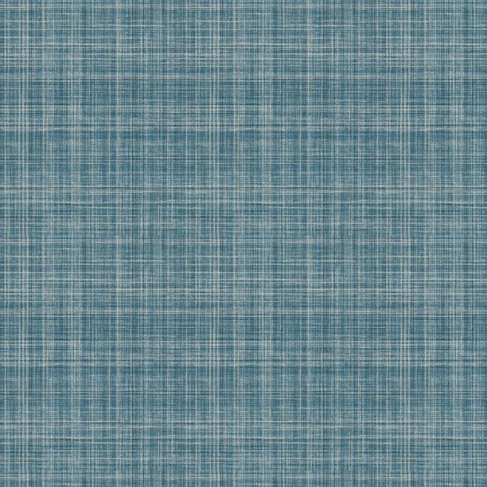 Lucia Wallpaper - Blue / Gold - by Elizabeth Ockford
