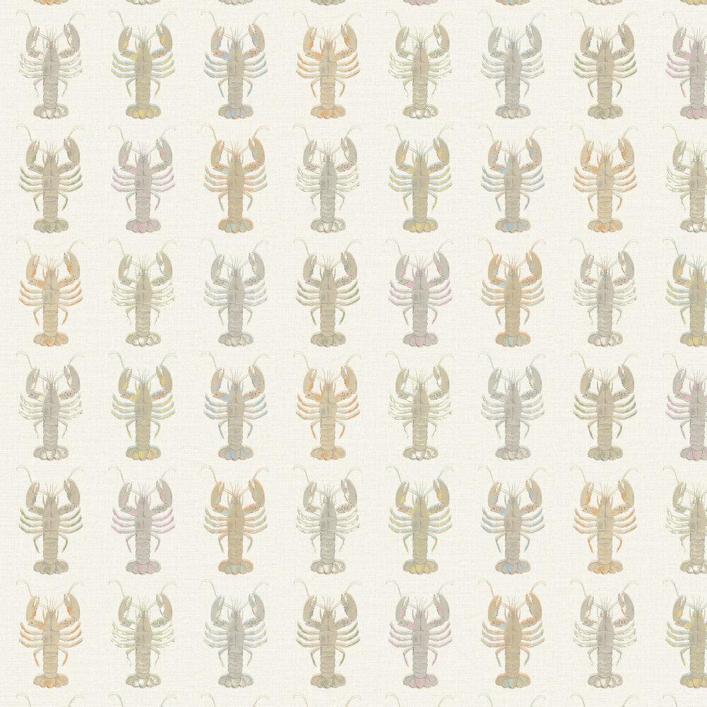 Aruba Wallpaper - Neutral - by Elizabeth Ockford