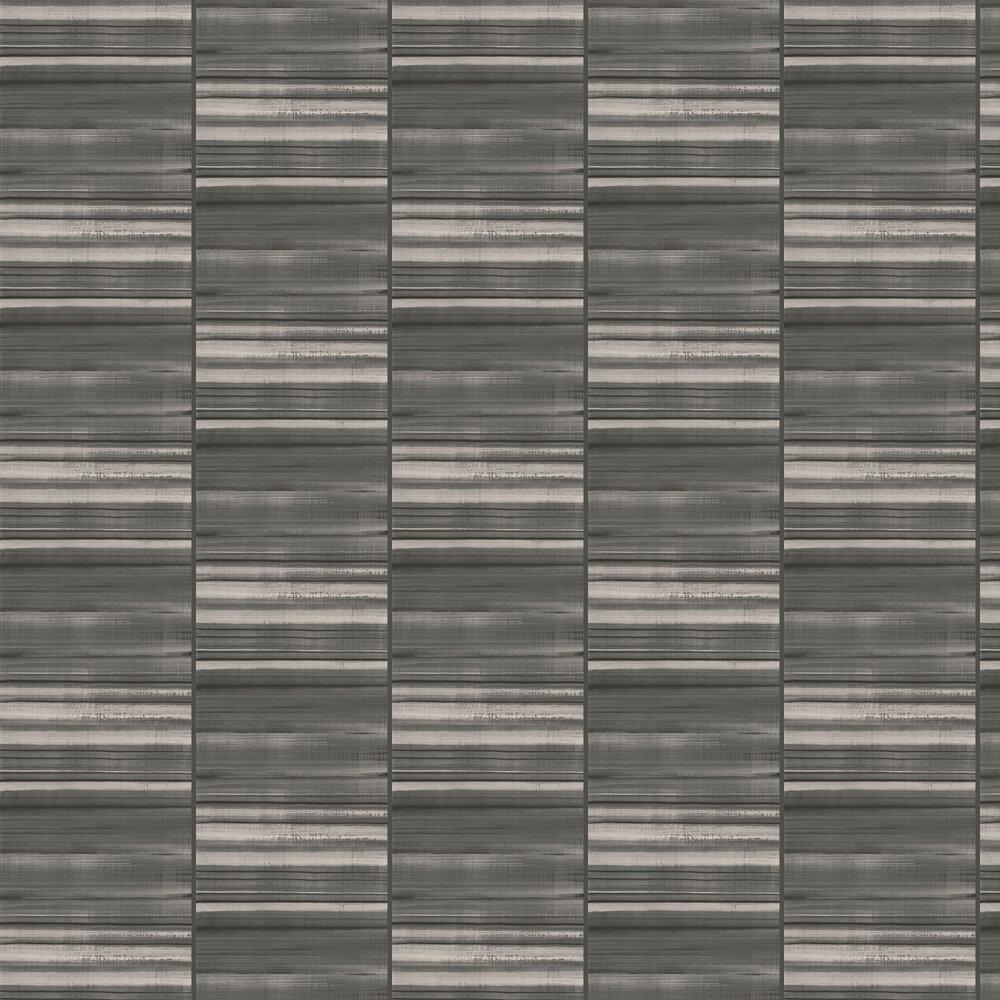 Nevis Wallpaper - Black - by Elizabeth Ockford