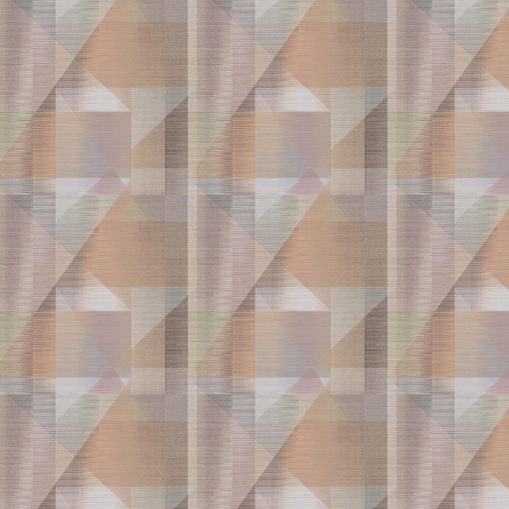Butia Wallpaper - Soft Red / Multi - by Elizabeth Ockford