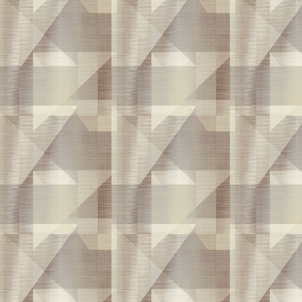 Butia Wallpaper - Neutral / Wine - by Elizabeth Ockford