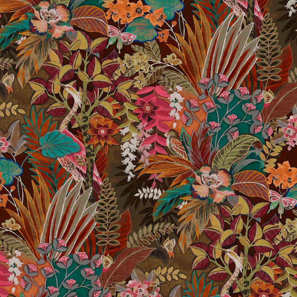 Hidden Paradise Wallpaper - Calypso - by Prestigious