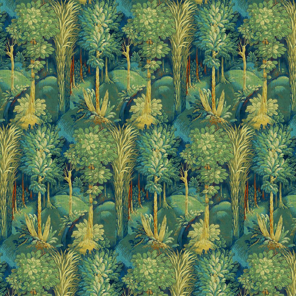 Prestigious Forbidden Forest Sapphire Wallpaper - Product code: 1818/710