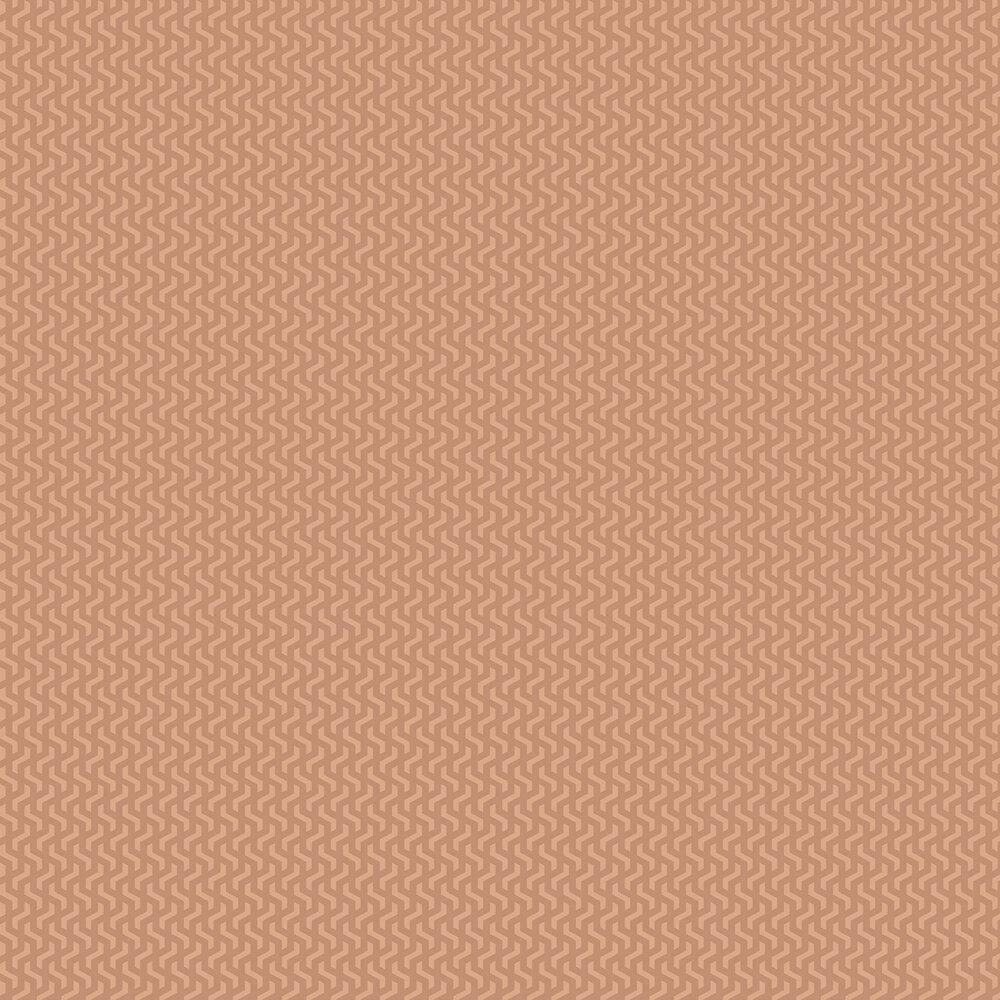 Rattan Wallpaper - Burnt Orange - by 1838 Wallcoverings