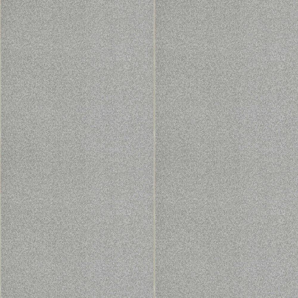 Beaded Brutalish Stripe Wallpaper - Graphite - by Anthology