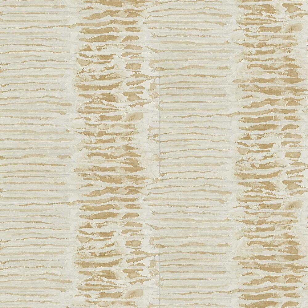 Ripple Stripe Wallpaper - Sandstone - by Anthology