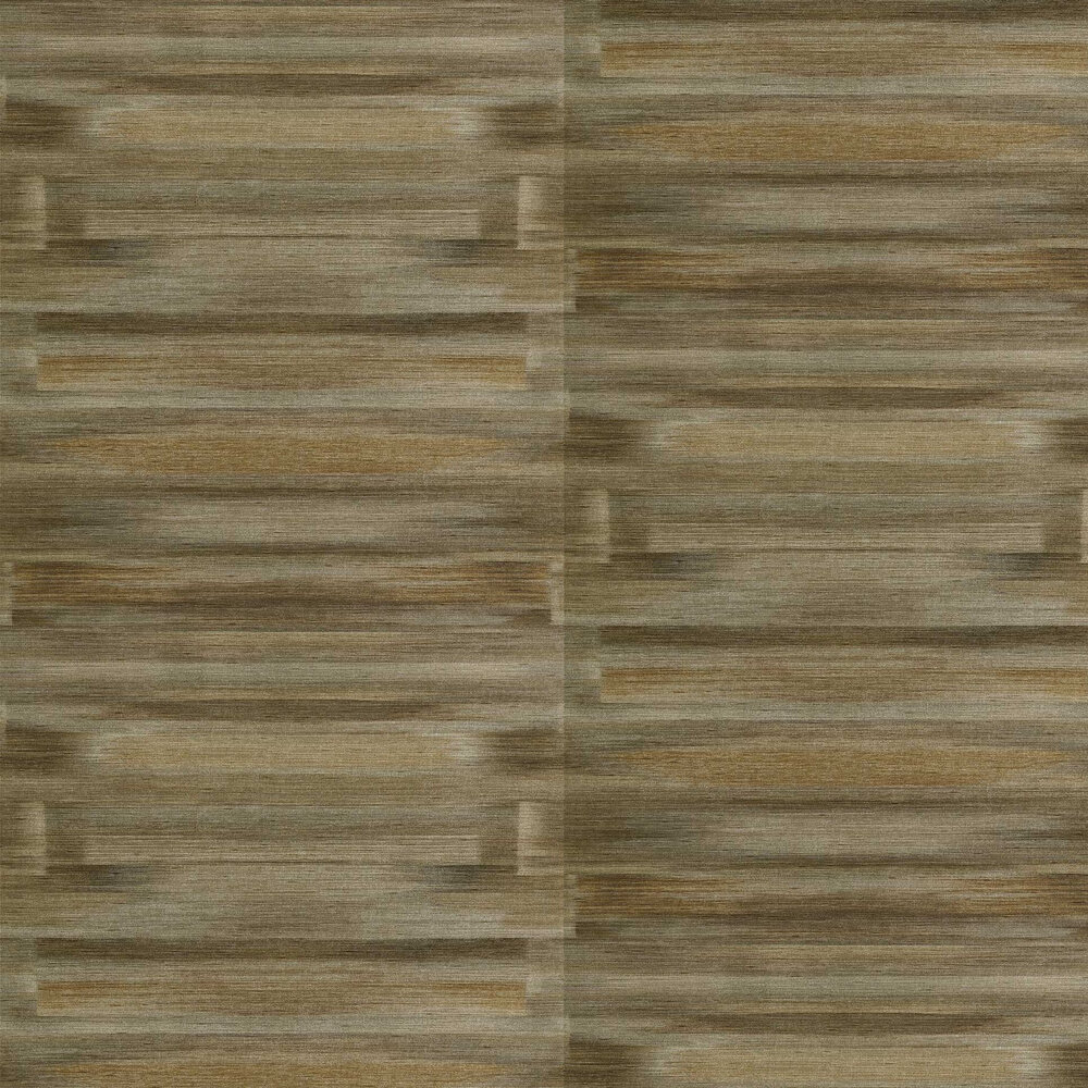 Refraction Wallpaper - Urban Gold - by Anthology