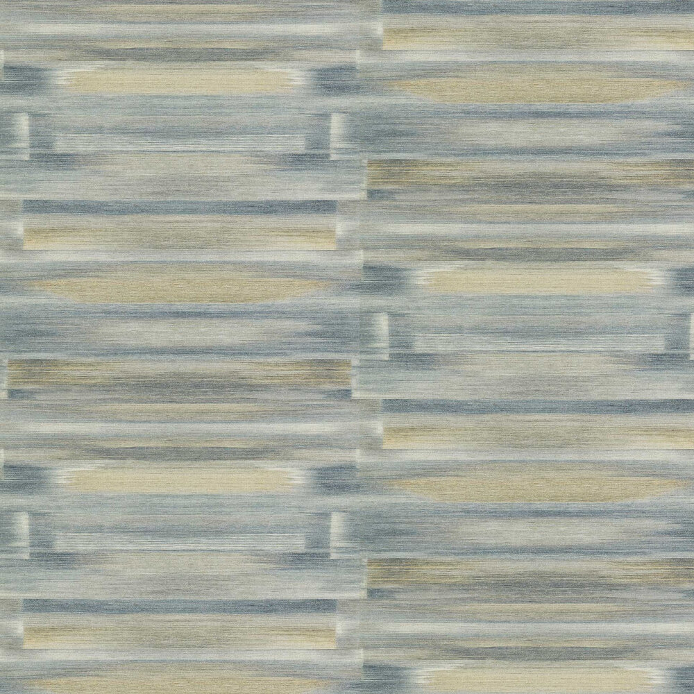 Refraction Wallpaper - Moonstone / Brass - by Anthology