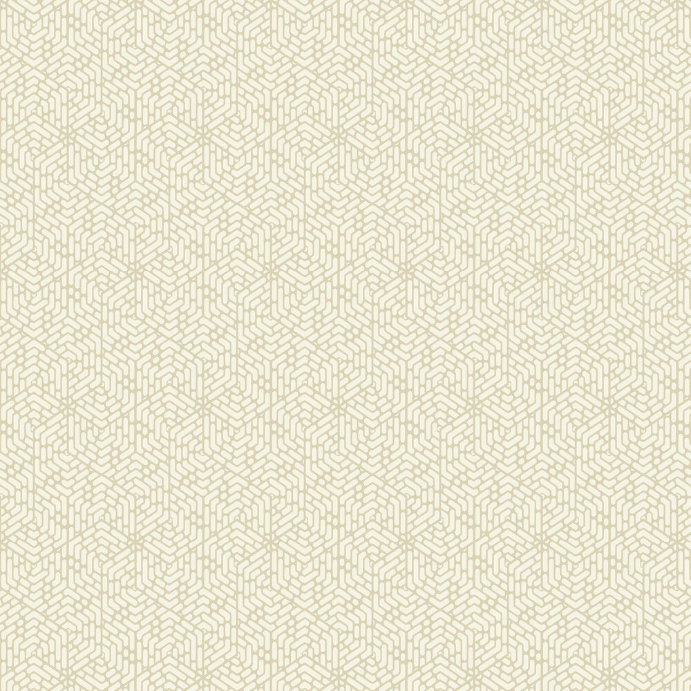 Willow Wallpaper - Barley - by 1838 Wallcoverings