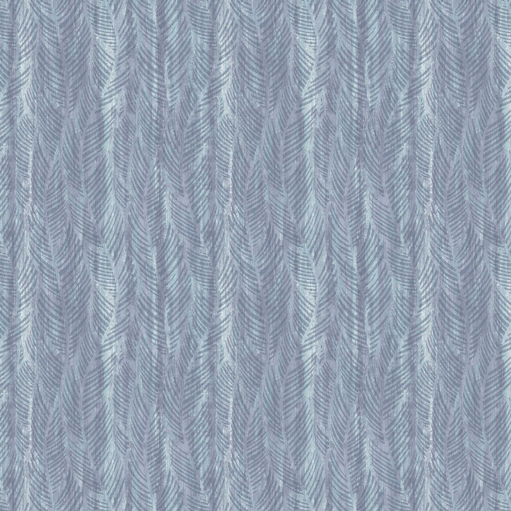 1838 Wallcoverings Bramble Blue Dusk Wallpaper - Product code: 2008-149-01