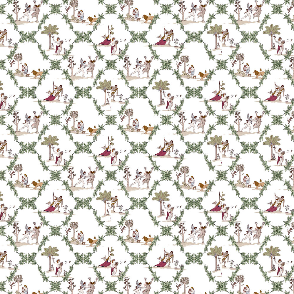 Coordonne Neo-Bucolic Multi-coloured Wallpaper - Product code: 8800053