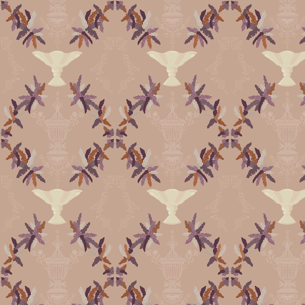 Neo-Rococo Wallpaper - Nude - by Coordonne