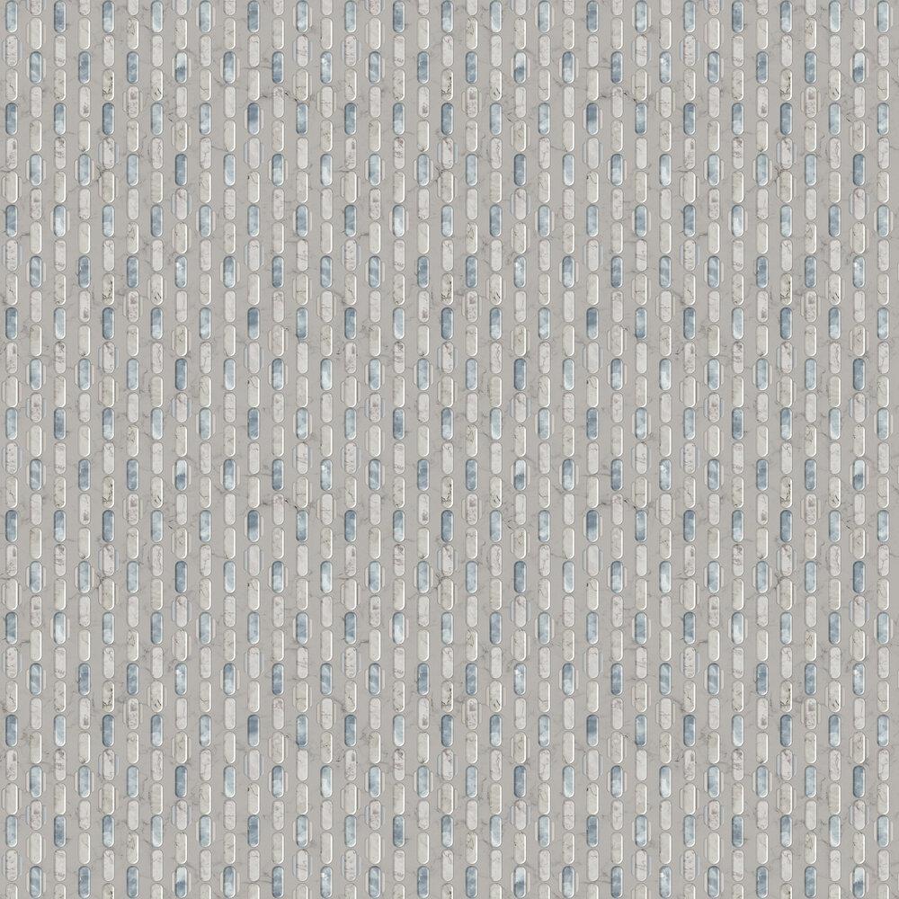 Capsule Wallpaper - Grey - by Tres Tintas