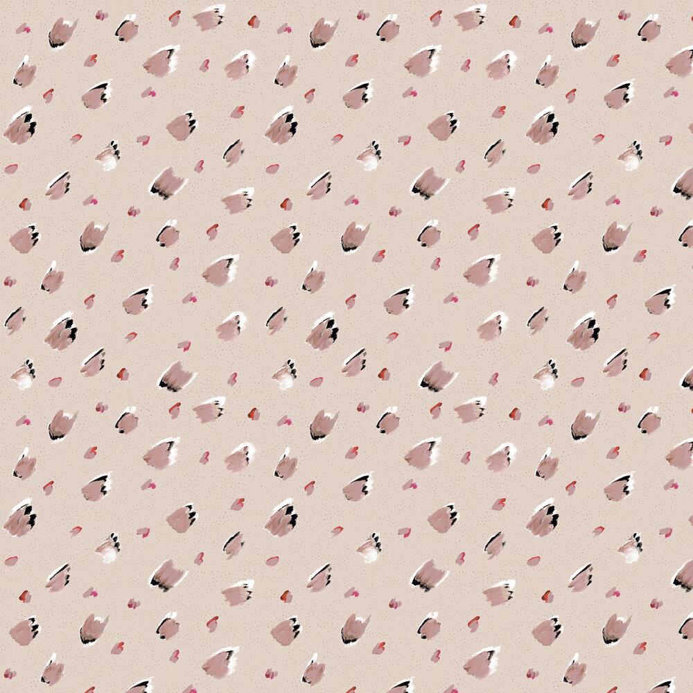 Brush Macro Wallpaper - Beige - by Tres Tintas