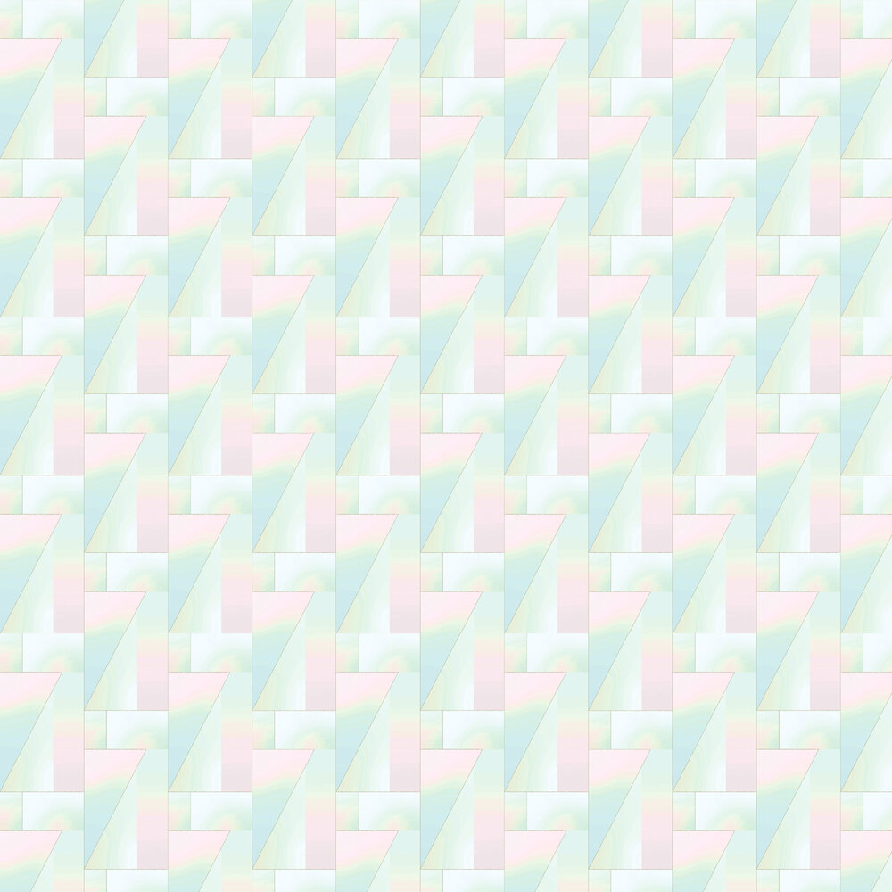 Iridescent Wallpaper - Pastel - by Tres Tintas