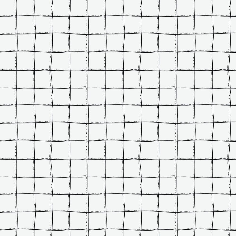 Squares Wallpaper - White - by Tres Tintas