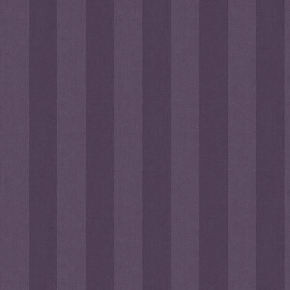 Graham & Brown Heritage Stripe Plum Wallpaper - Product code: 107593