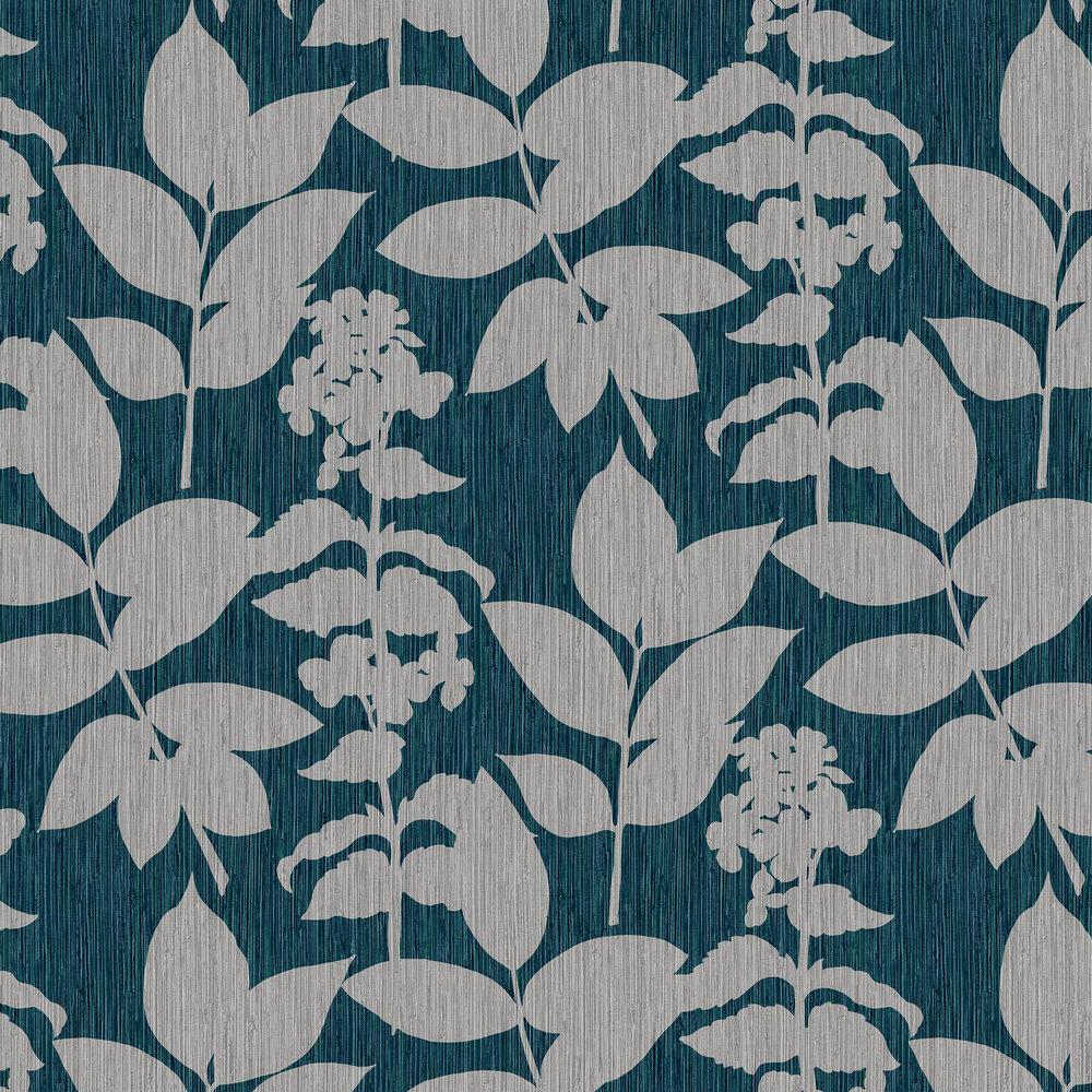 Aspen Wallpaper - Teal - by Graham & Brown