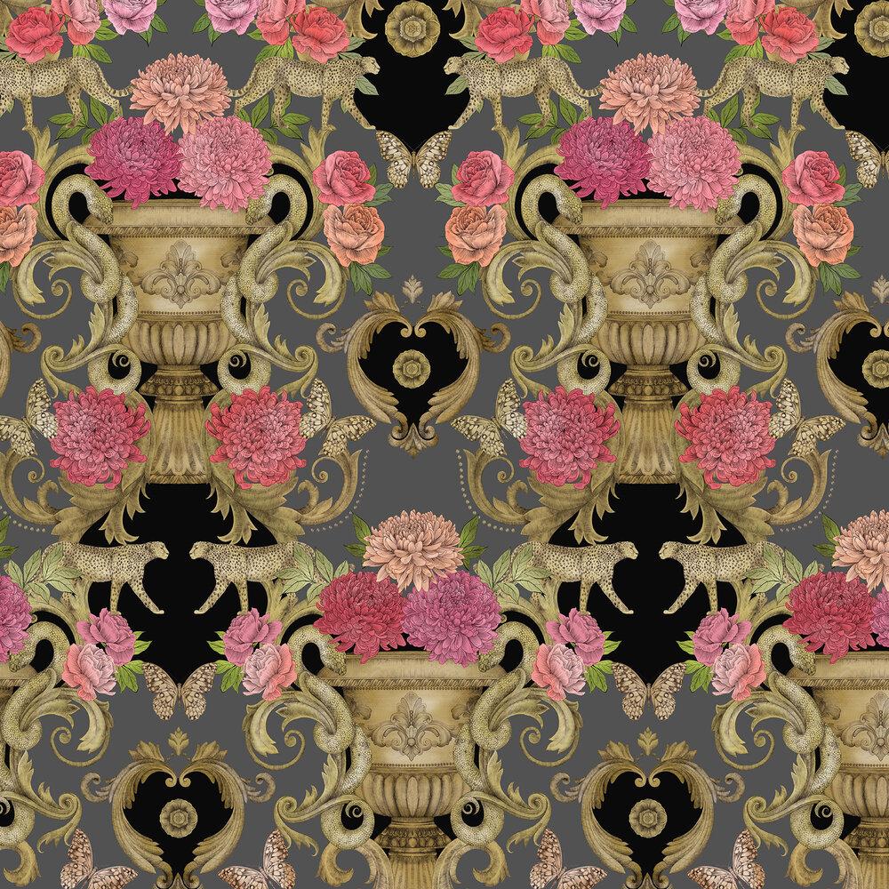 Chateau Wallpaper - Noir - by Matthew Williamson