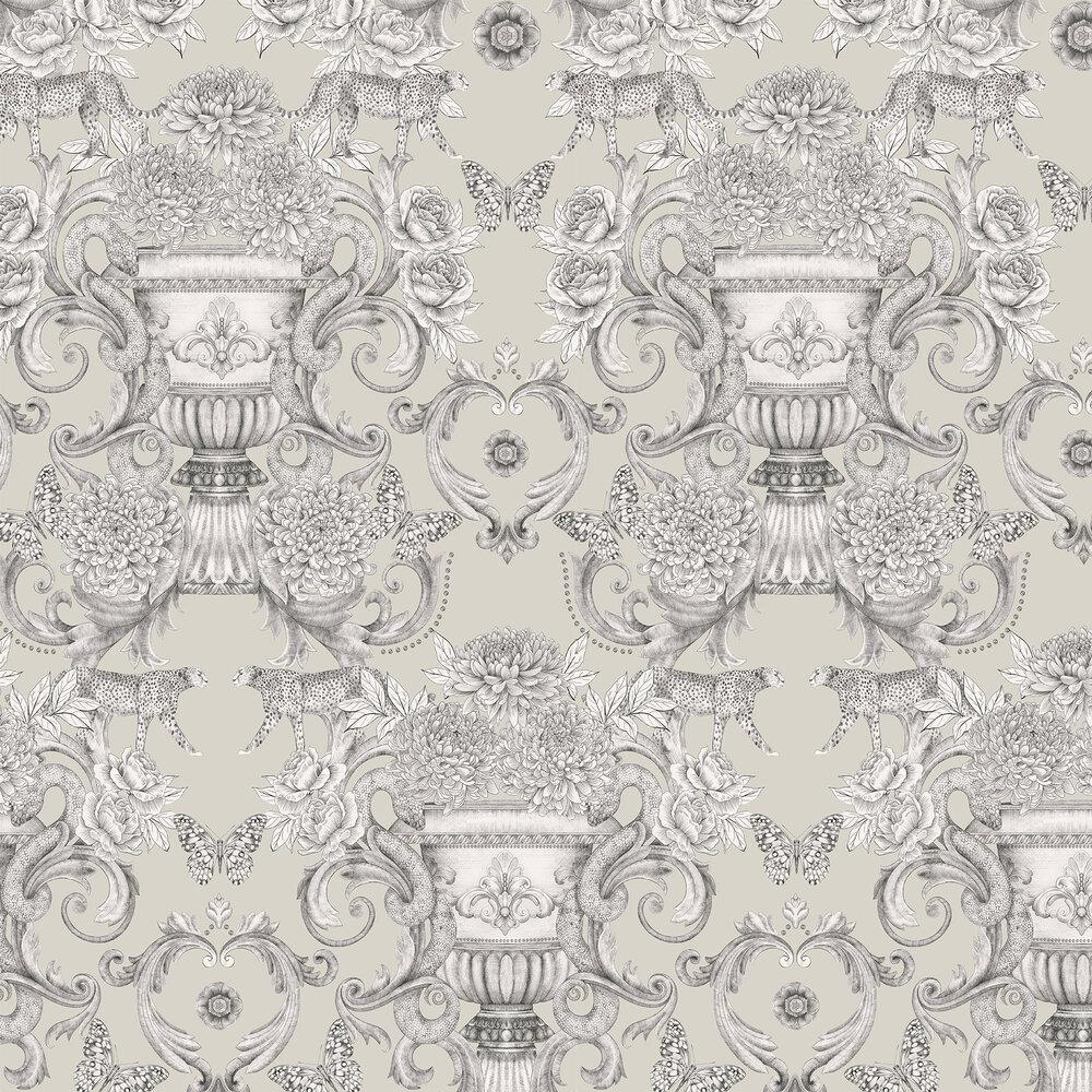 Chateau Wallpaper - Stone - by Matthew Williamson