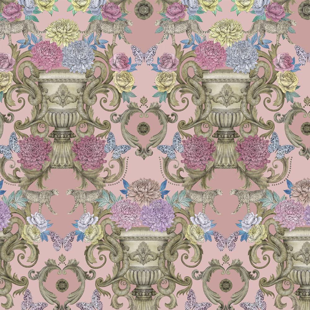 Matthew Williamson Chateau Pink Wallpaper - Product code: W7490-04