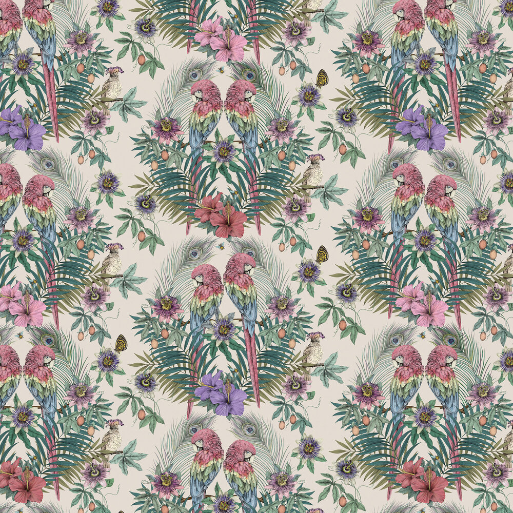 Matthew Williamson Ventura Parchment Wallpaper - Product code: W7494-02