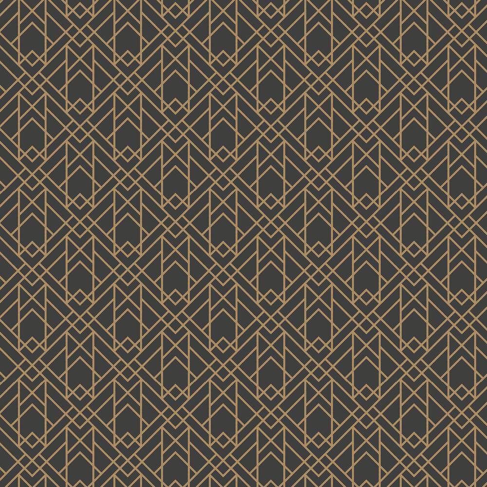 1838 Wallcoverings Metro Jet Wallpaper - Product code: 1907-140-03