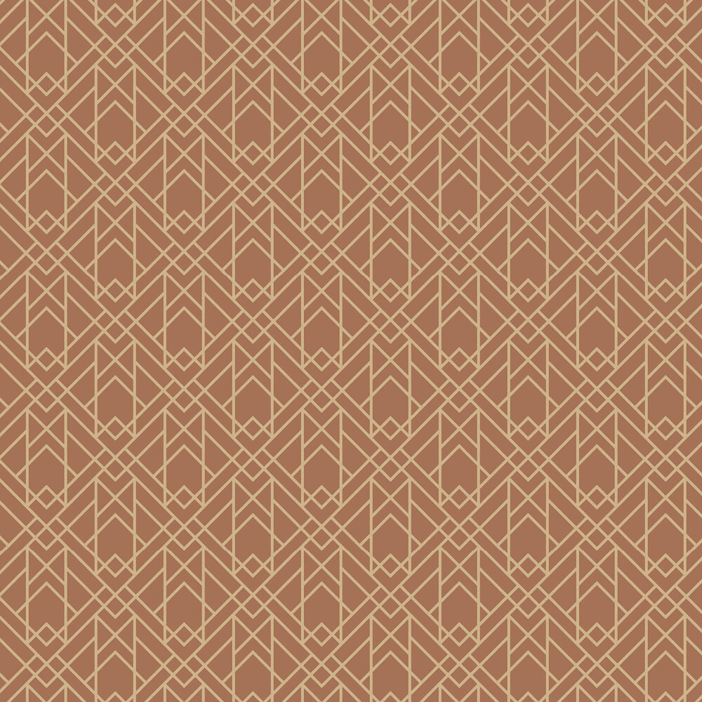 1838 Wallcoverings Metro Amber Glow Wallpaper - Product code: 1907-140-04