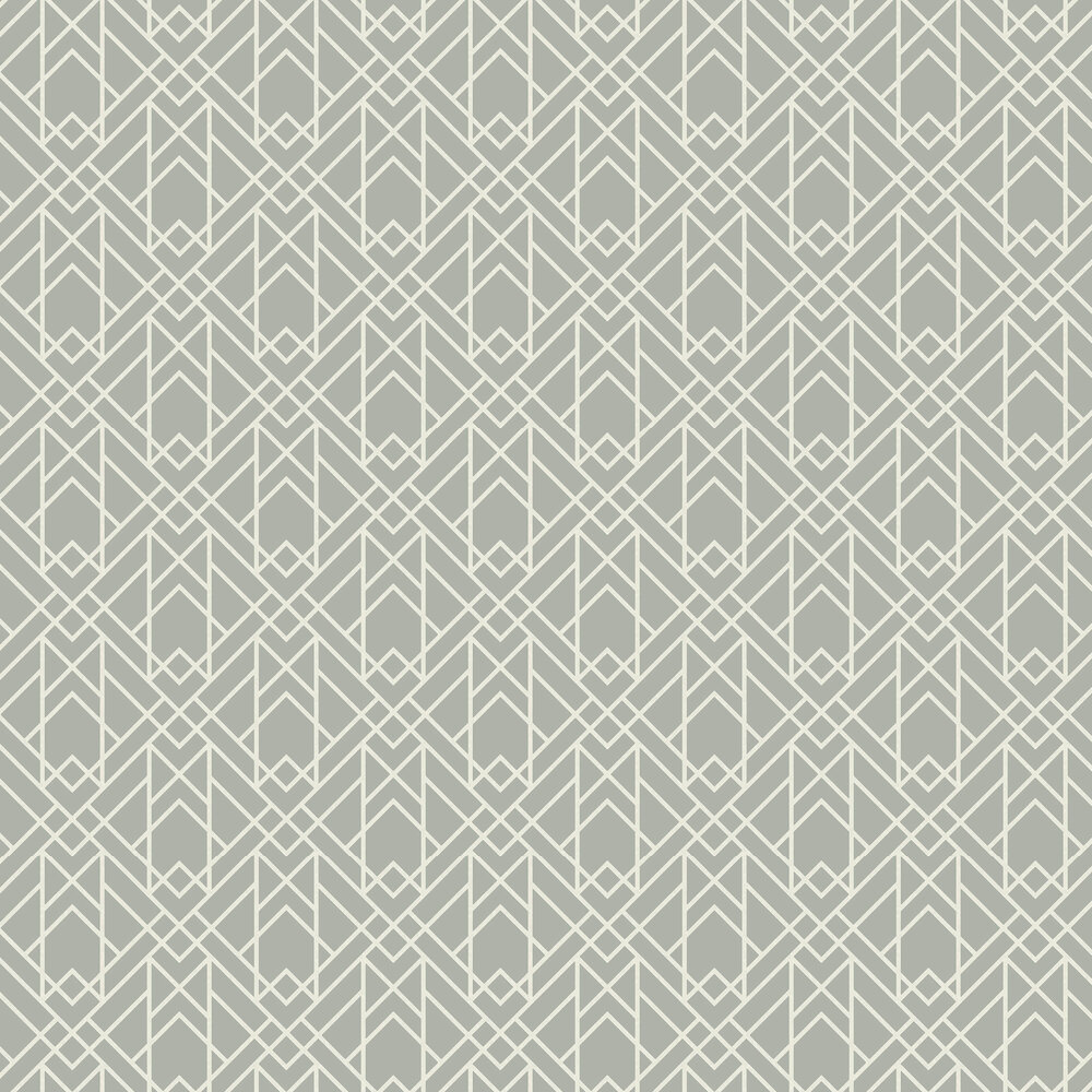 Metro Wallpaper - Soft Grey - by 1838 Wallcoverings