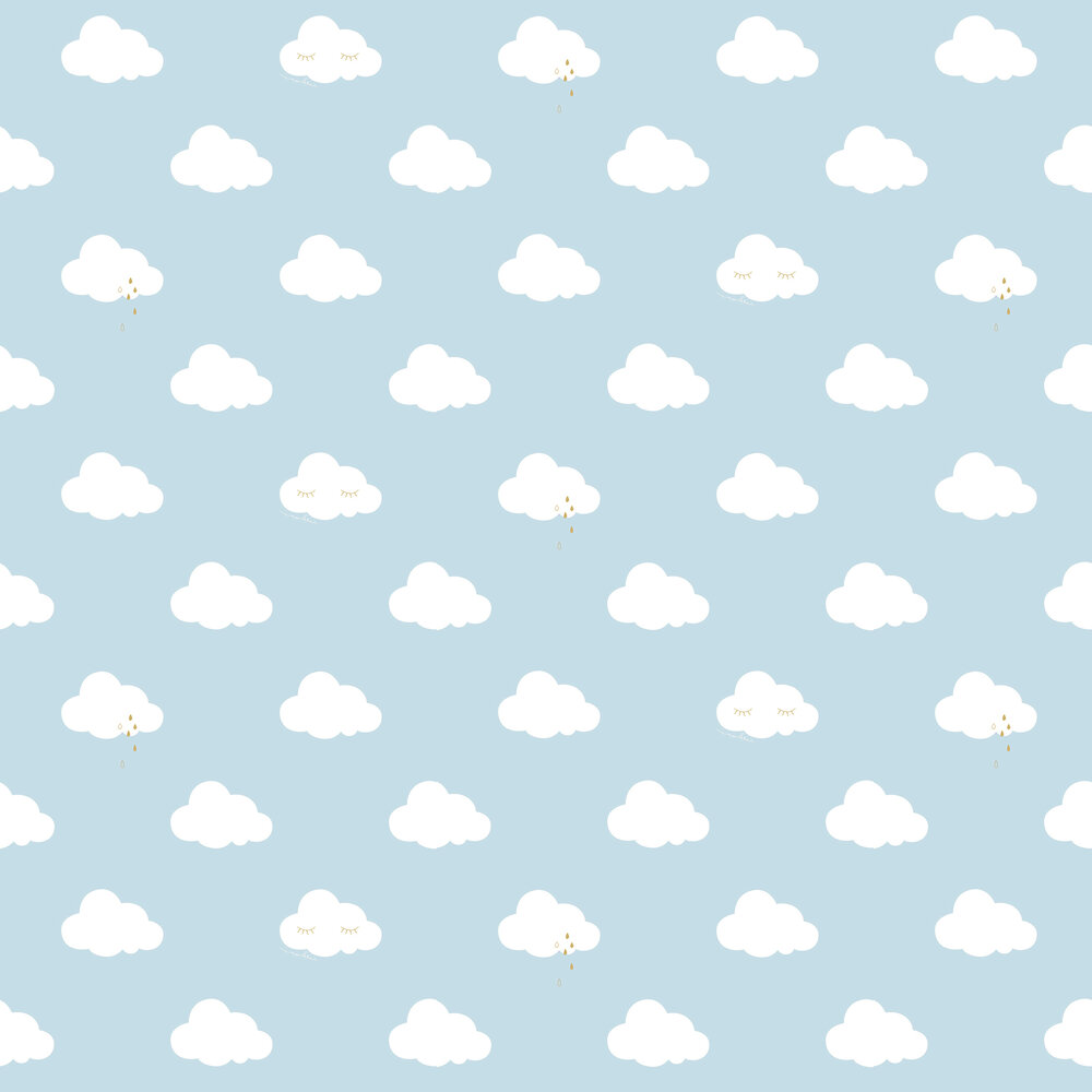 Galerie Sleepy Clouds Blue Wallpaper - Product code: ND21114