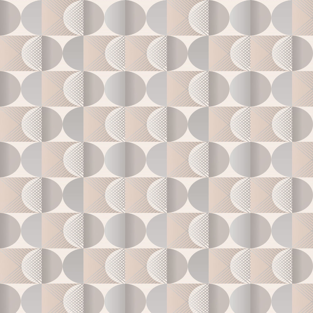 Round Wallpaper - Taupe - by Tres Tintas