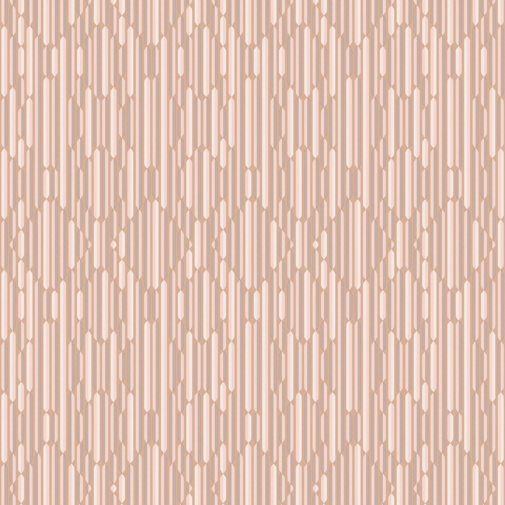 Optical Wallpaper - Caramel - by Tres Tintas